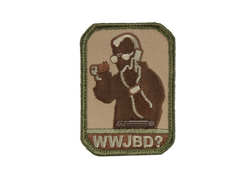 WWJBD? FULL COLOR PATCH