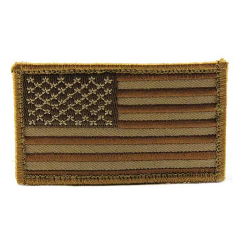 US FLAG MINI DESERT PATCH