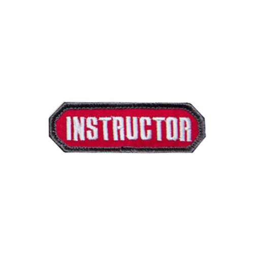 INSTRUCTOR RED PATCH