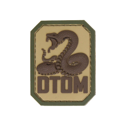 DTOM PVC MULTICAM PATCH