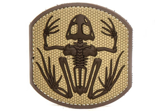 FROG SKELETON DESERT PATCH