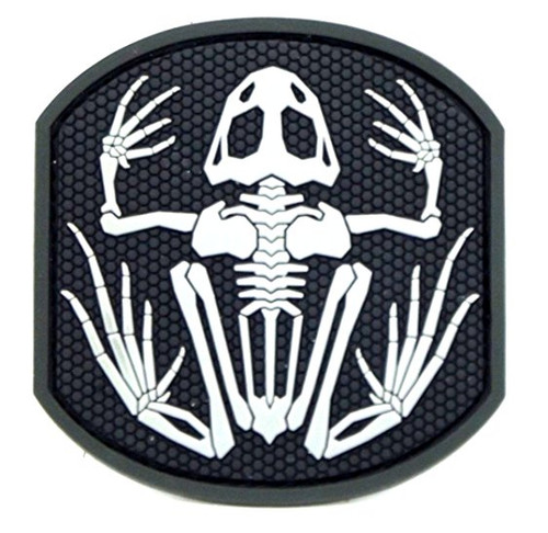 FROG SKELETON SWAT PATCH