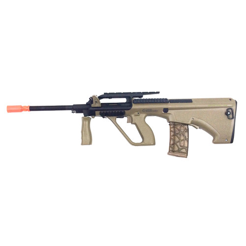 STEYR AUG A2 AEG AIRSOFT RIFLE TAN