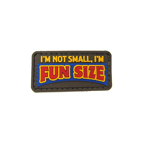 FUN SIZE PVC FULL COLOR PATCH