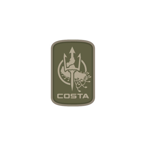 COSTA LUDUS LOGO 2IN PVC MTC PATCH