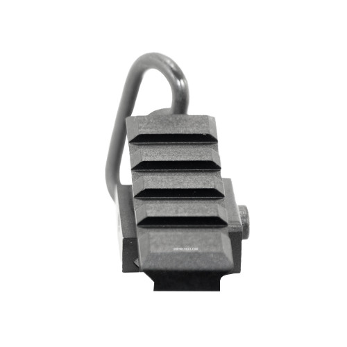 ANGLED RAIL SLING MOUNT ADAPTER BLK