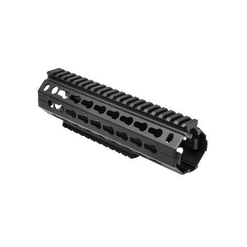 KEYMOD RAIL MID LENGTH BLACK