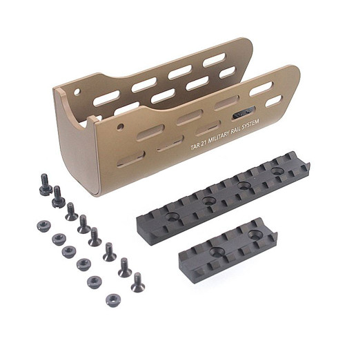 TAR 21 TAVOR AIRSOFT RAIL SYSTEM TAN
