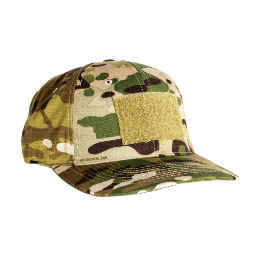 6 PANEL BASEBALL CAP W/LOOP MTC