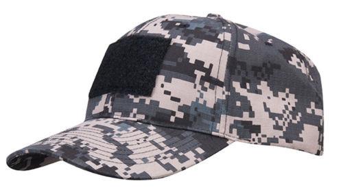 6 PANEL BASEBALL CAP W/LOOP SUB DIG