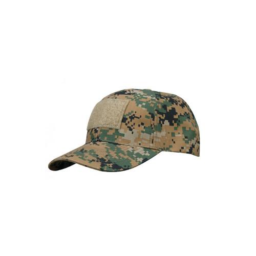 6 PANEL TACTICAL CAP W/LOOP MARPAT