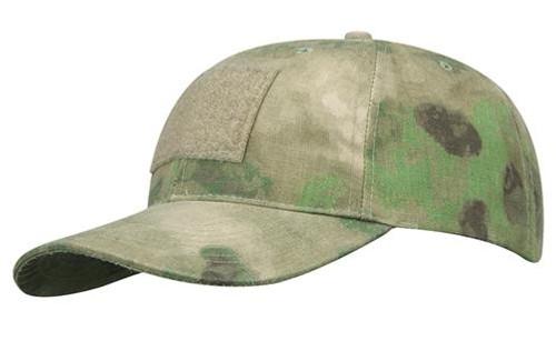 6 PANEL BASEBALL CAP W/LOOP ATAC FG