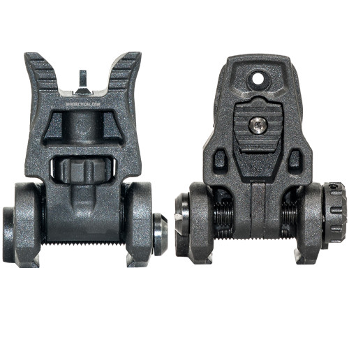 ENHANCED POLYMER BACK UP FLIGHT SIGHTS