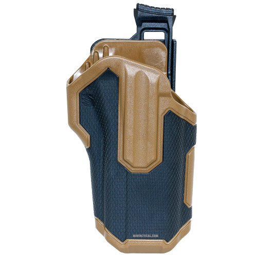 OMNIVORE LEVEL 2 RT HAND HOLSTER BLK TAN