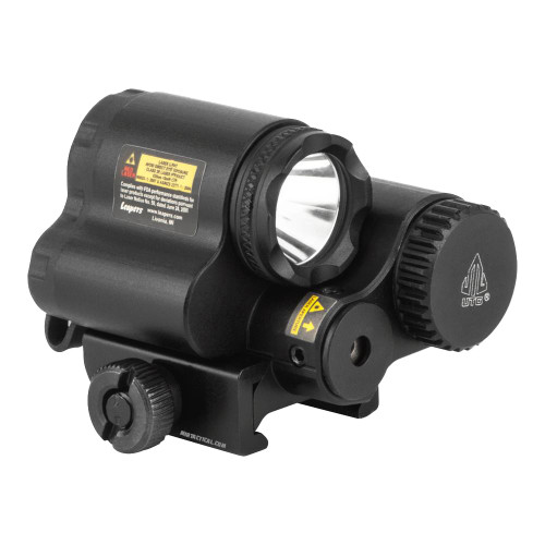 SUB COMPACT LED LIGHT W/ ADJ RED LASER