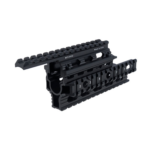 UNIVERSAL AK47 QUAD RAIL BLACK