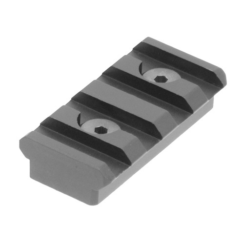 PRO 4-SLOT KEYMOD RAIL SECTION BLK