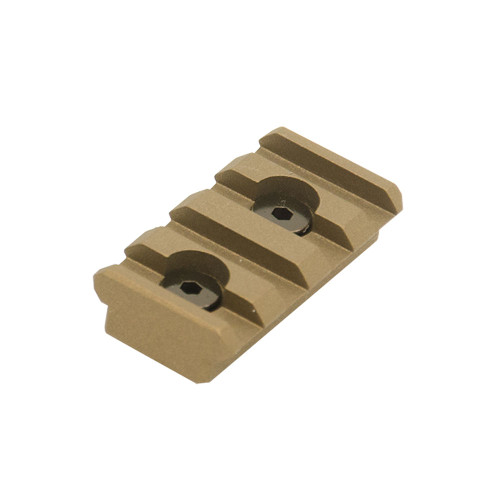 PRO 4-SLOT KEYMOD RAIL SECTION BRONZE