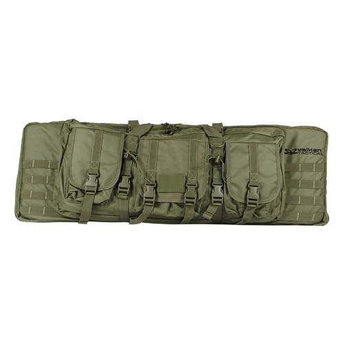 36 DOUBLE RIFLE TACTICAL GUN BAG OD