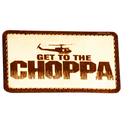 GET TO THE CHOPPER VELCRO PATCH