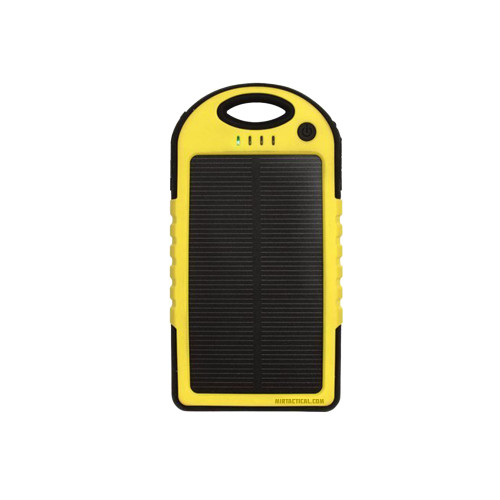 MIL-SPEC MSP LIFE SOLAR CHARGER BLK/YEL