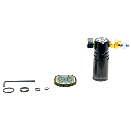 STORM ON TANK REGULATOR BLACK W/ LINE