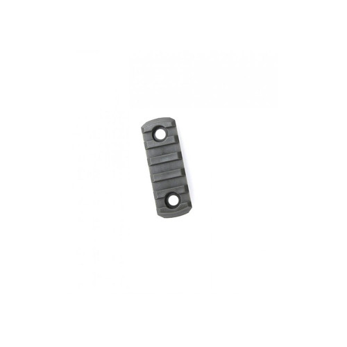 KEYMOD POLYMER 5 SLOT RAIL SECTION BLACK