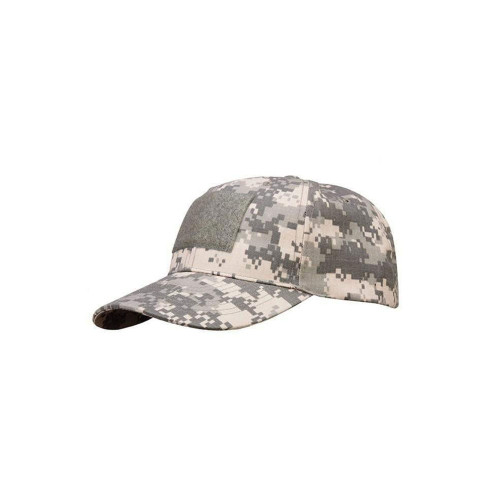 6 PANEL TACTICAL CAP W/LOOP DESERT MARPAT