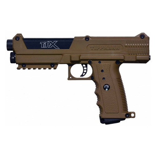 TIPX BASIC PAINTBALL MARKER PISTOL TAN