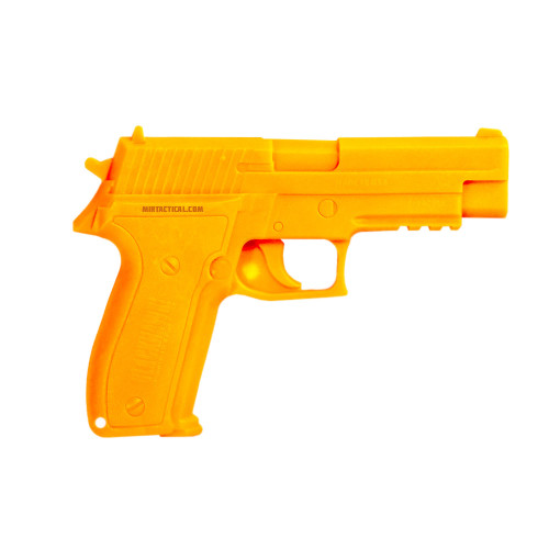 DEMONSTRATOR DUMMY MOLDED GUN SIG 226 ORANGE