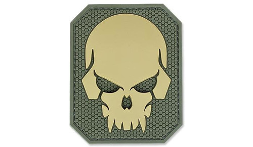 PIRATE SKULL LARGE PVC MULTICAM PATCH