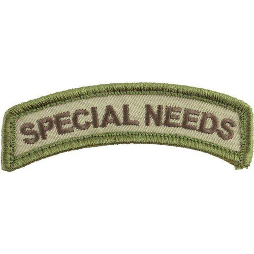 SPECIAL NEEDS MULTICAM PATCH