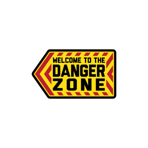 DANGER ZONE PVC FULL COLOR PATCH