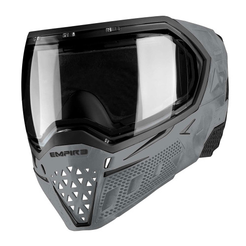EMPIRE EVS THERMAL PAINTBALL MASK GOGGLE CLEAR LENS BLACK