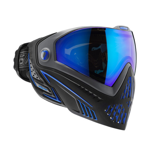 DYE I5 PAINTBALL MASK STORM BLACK BLUE