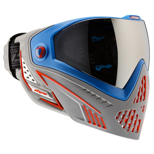 DYE I5 PAINTBALL MASK PATRIOT