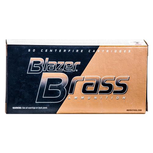 BLAZER BRASS 9MM 124 FMJ 50 RND BOX