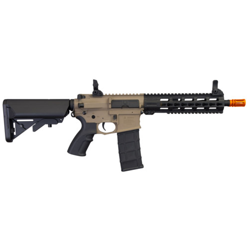 "COMMANDO AEG CQB 10.5"" KEYMOD AIRSOFT RIFLE TAN"