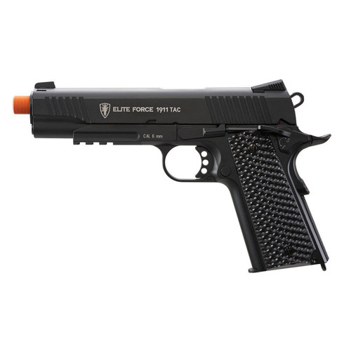 EF 1911 TAC AIRSOFT CO2 PISTOL BLACK