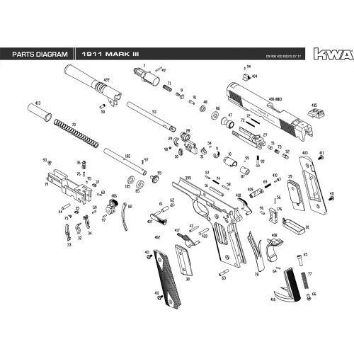 Springfield 1911 Assembly Diagram Car Wiring Diagrams Explained