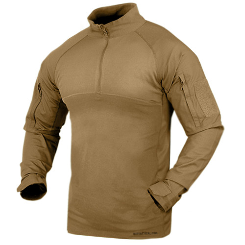 COMBAT SHIRT TAN MEDIUM