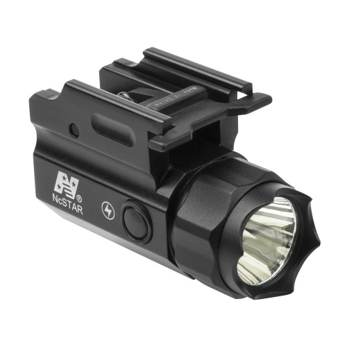 COMPACT 150 LUMEN FLASHLIGHT W/GREEN LASER QR MOUNT