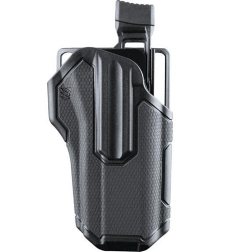 OMNIVORE LEVEL 2 RT HAND HOLSTER GRAY BLACK