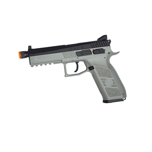 CZ P-09 PISTOL AIRSOFT GBB THREADED URBAN GREY
