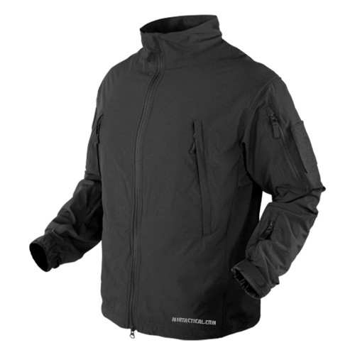 VAPOR LIGHT WEIGHT WINDBREAKER BLACK XL