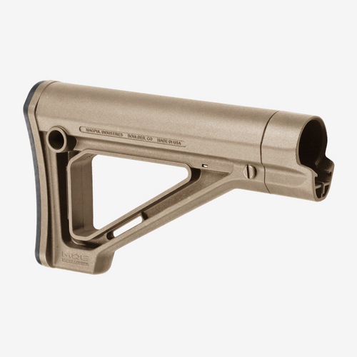MAGPUL MOE FIXED STOCK MIL-SPEC FDE