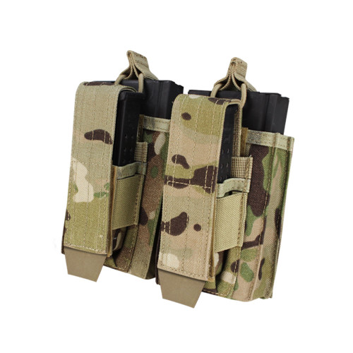 DOUBLE M14 KANGAROO MAG POUCH MULTICAM