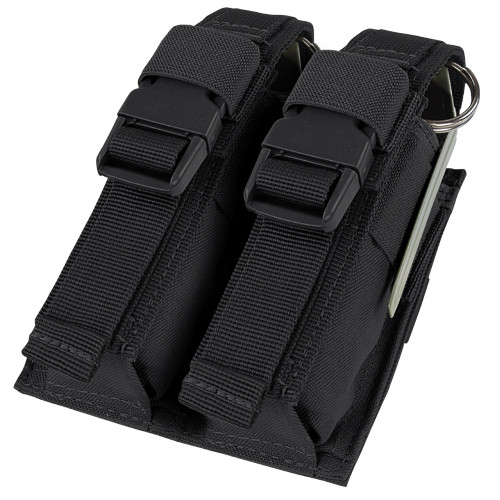 DOUBLE FLASHBANG POUCH BLACK