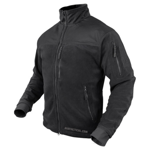ALPHA MICRO FLEECE JACKET BLACK MEDIUM