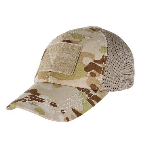 MESH TACTICAL CAP - MULTICAM ARID